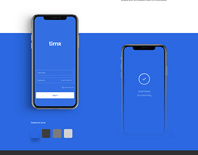 timR Time Tracker Application