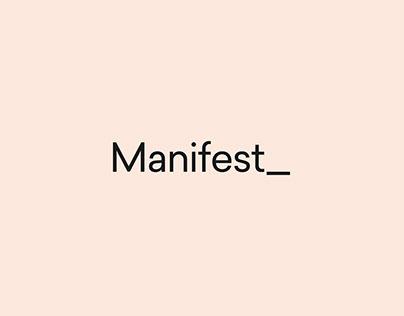 Manifest Rebrand