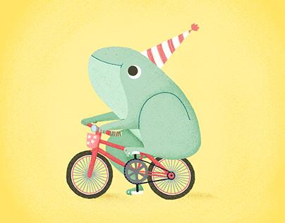 Happy birthday little froggy