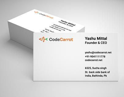 CodeCarrot Visiting Card