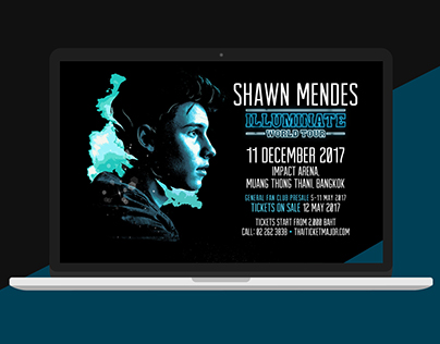 Shawn Mendes Illuminate World Tour live in Bangkok