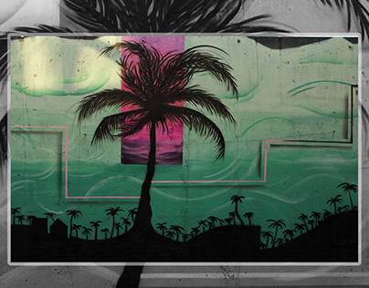 Like a Palm tree / Mural