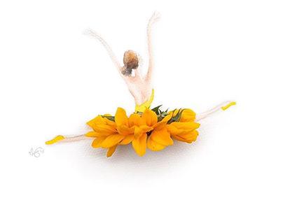 Creative Painting Flower Art Ideas