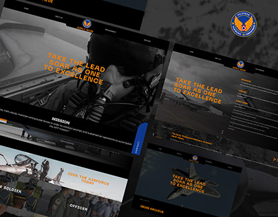 Philippine Air Force - Web Design Concept