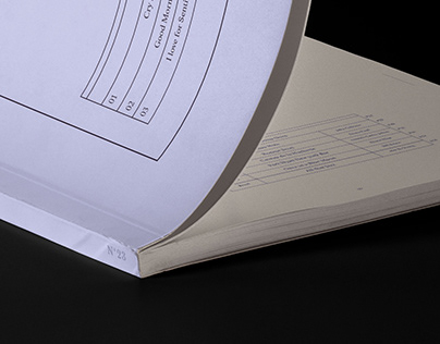 Five Sense, Blue / Editorial Design Project