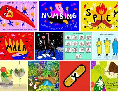 Illustrations for Science Centre Singapore