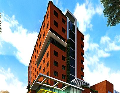 Distrito Miraflores (Guatemala) Office building