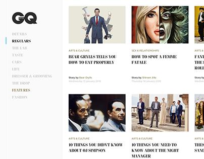 Bringing GQ magazine online.