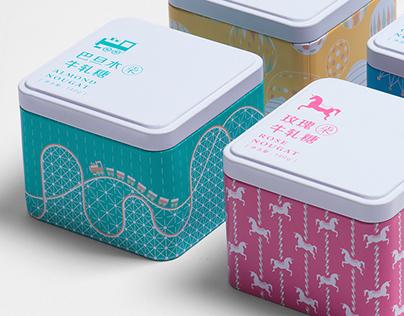 The 7th Store Nougat Packaging / 第七鋪牛軋糖包裝設計