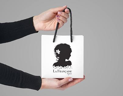 """Logo et identité visuelle pour """"La Française Vegan"""""""