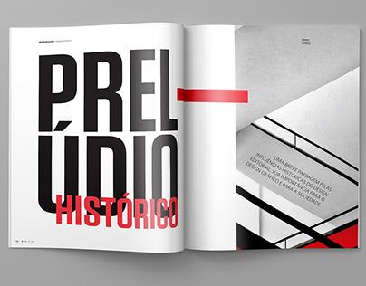 Editorial design - graphic design magazine