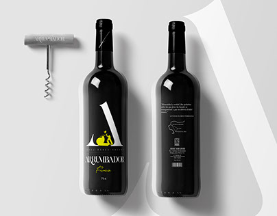 Arrumbador Sherry Wine Labelling