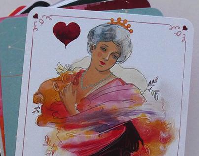 La Reina de Corazones - The Queen of Hearts
