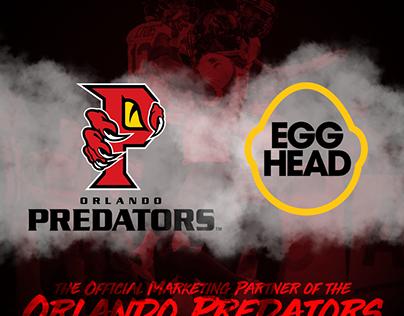 Egghead Creative x Orlando Predators