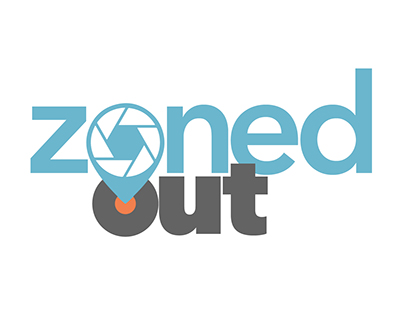 Zoned Out - Photography and Travel   (Logo Design)