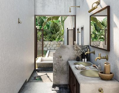 Jungle Bath| Studio M6