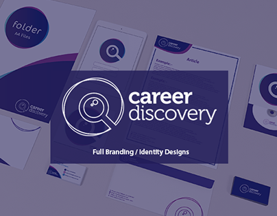 Career Discovery Full Branding / Identity Designs