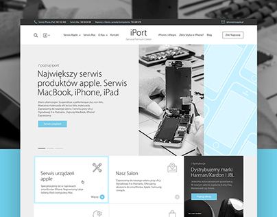iPort - New Website for Authorized Apple Service