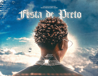 ALEE - FESTA DE PRETO (OPTIONAL ART COVER)