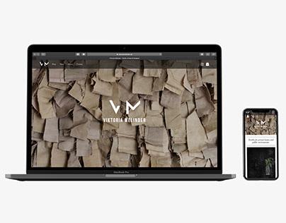 Viktoria Melinder - Identity Design - Logo - Web Design