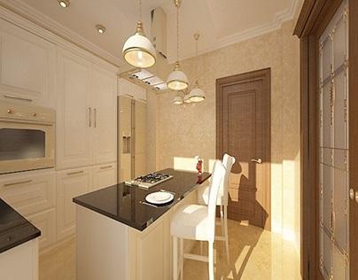 Indoor interior design classic luxury house