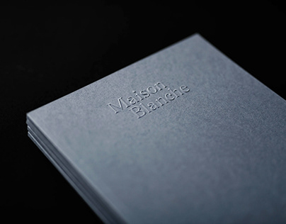 Maison Blanche. Real Estate Branding & Editorial Design