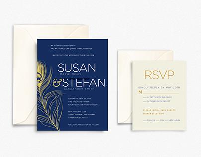 S&S Wedding Invites
