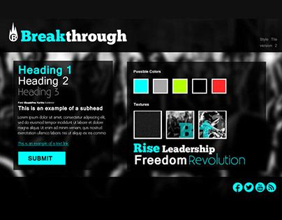 Breakthrough | Style Guide