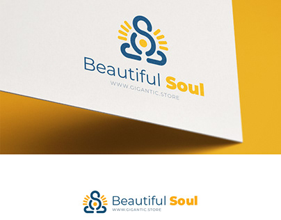 Logo Design Template for Meditation and Spiritual World