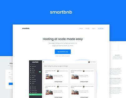 Smartbnb Website Design and Conversion Optimization