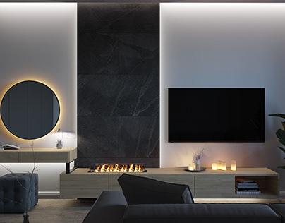 Akadem Gorodok apartments interior design