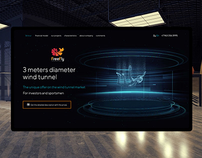 Landing Page - Wind Tunnel