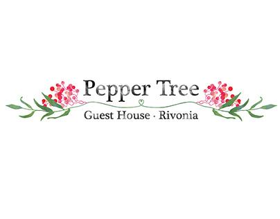 Pepper Tree Guesthouse Rivonia | Branding