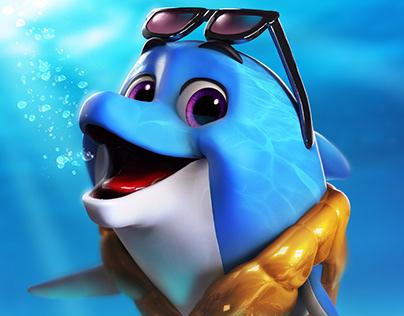 Personagem EcoBlue