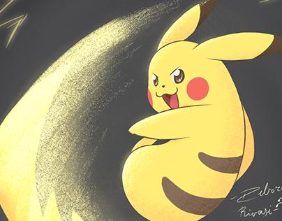 Pikachu, use Iron Tail! - Character Design Challenge