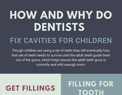 How and Why Do Dentists Fix Cavities for Children