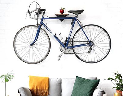 Design Bike wall mount rack