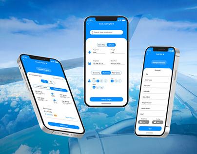 Flight Booking App | Air ticket App