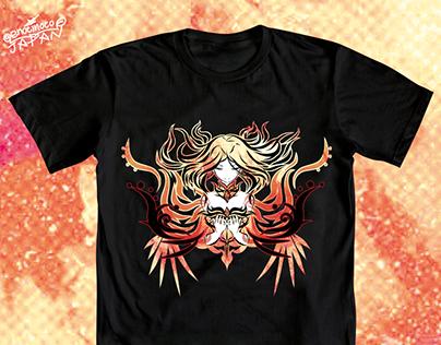 【DOTA2-Tシャツ】Fiery Soul【LINA】