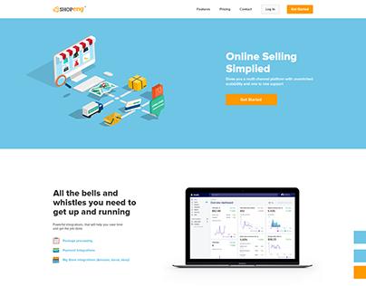 Shopeng Web Design