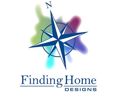 Finding Home Designs Logo