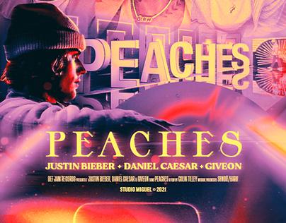 Peaches | Justin Bieber & Daniel Caesar & Giveon 🍑