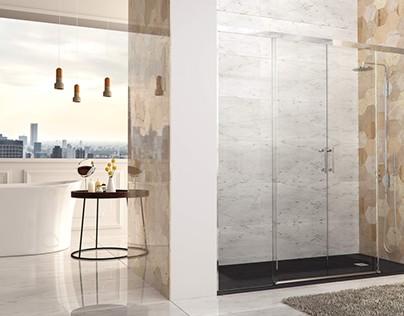 Mamparas de ducha Glassinox - Nueva Serie Canales