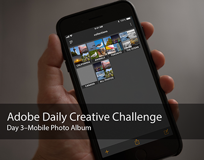 Adobe Daily Creative Challenge - Day 3