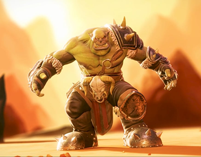 Combo Attack Animation - Orc
