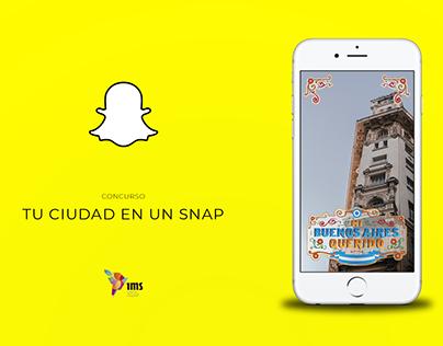 Snapchat - Tu ciudad en un snap