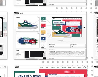 Vans - product card
