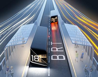 ALTERN - system of autonomous public transport vehicles