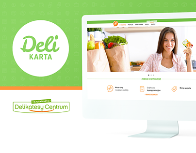 Delikarta - web design