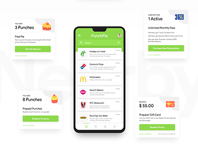 Punch Pie - Rewards Mobile App